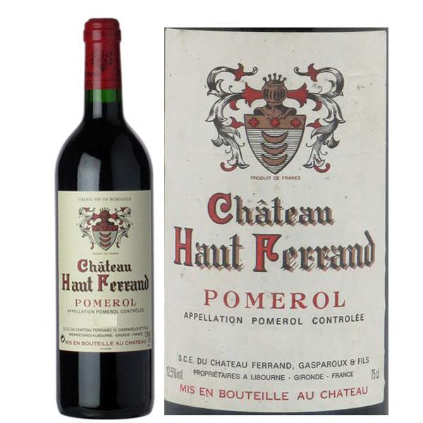 Rượu Vang Chateau Haut Ferrand