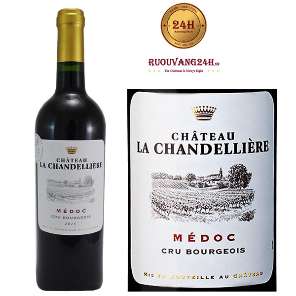Rượu Vang Chateau La Chandelliere