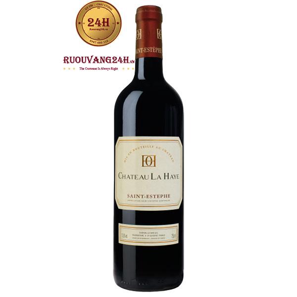 Rượu Vang Chateau La Haye Saint – Estephe