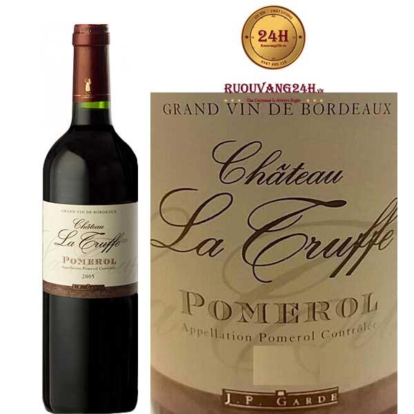 Rượu Vang Chateau La Truffe