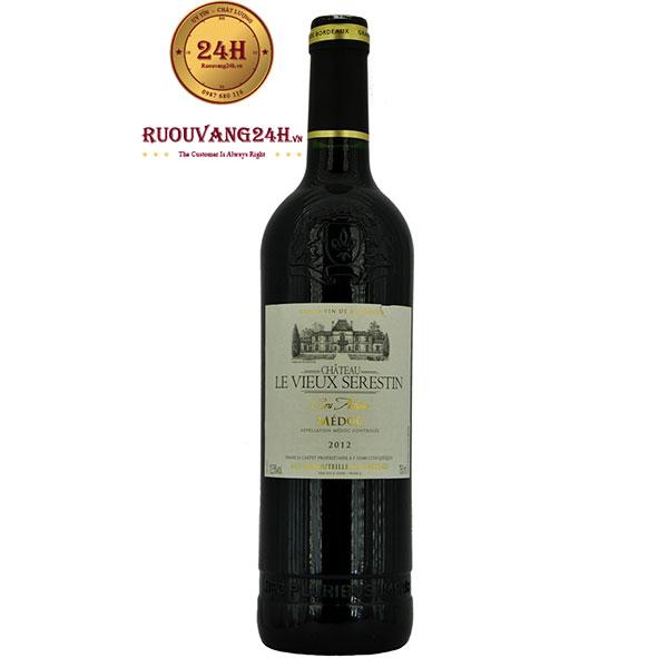 Rượu Vang Chateau La Vieux Serestin Medoc Cru Artisan