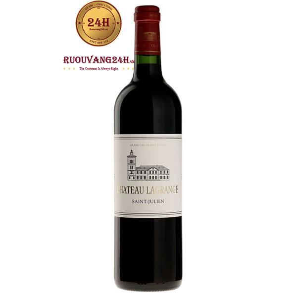 Rượu Vang Chateau Lagrange 2012
