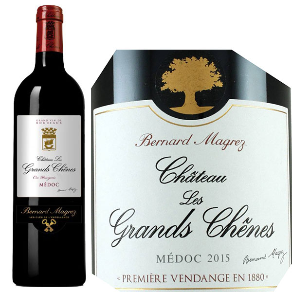 Rượu Vang Chateau Les Grands Chenes