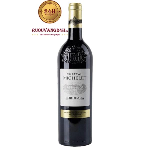 Rượu Vang Chateau Michelet Bordeaux