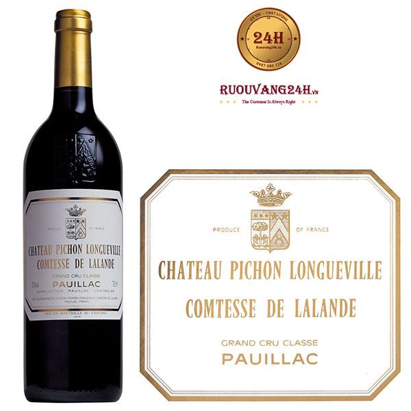 Rượu Vang Chateau Pichon Longueville Comtesse De Lalande