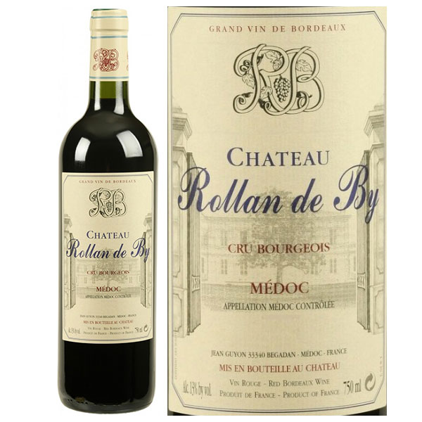 Rượu Vang Chateau Rollan De By (Cru Bourgeois)