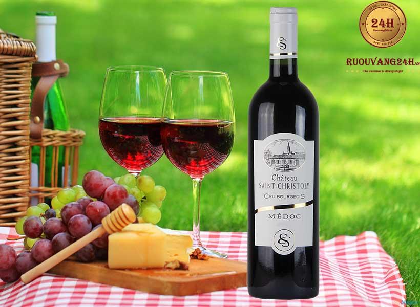 Rượu Vang Chateau Saint Christoly