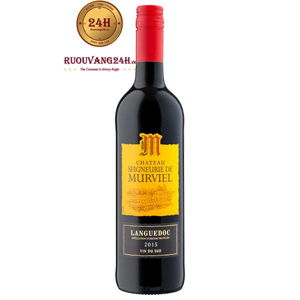 Rượu Vang Chateau Seigneurie De Murviel Languedoc
