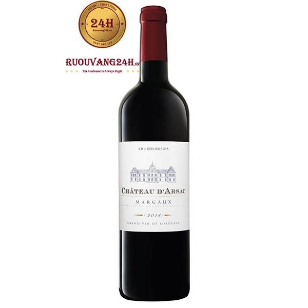 Rượu Vang Chateau d'Arsac Cru Bourgeois