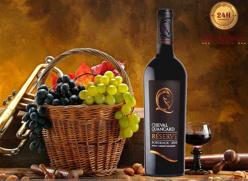 Rượu Vang Cheval Quancard Reserve Bordeaux