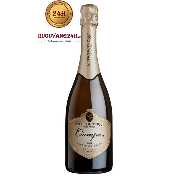 Rượu Vang Ciampa Spumante Brut Millesimato
