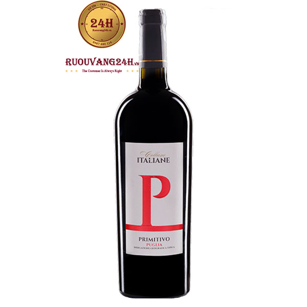 Rượu Vang Collane Italiane P Primitivo