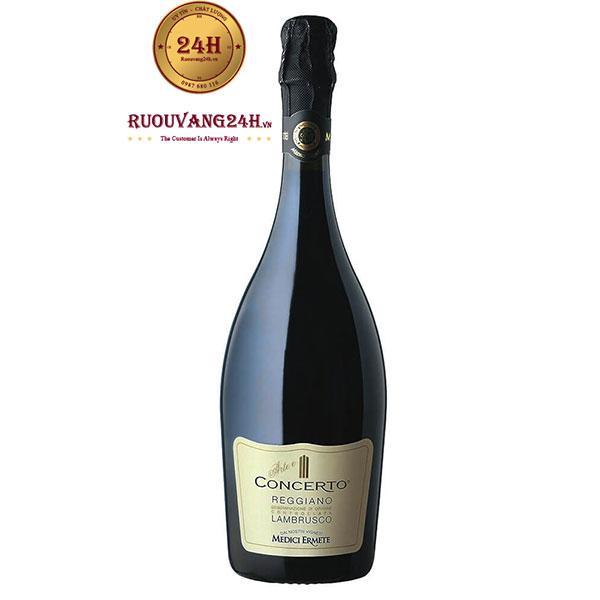 Rượu Vang Concerto Lambrusco