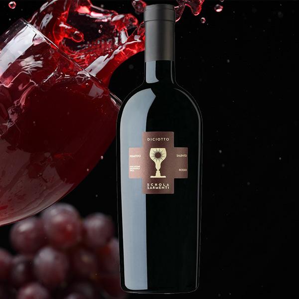 Rượu Vang Diciotto 18 Độ