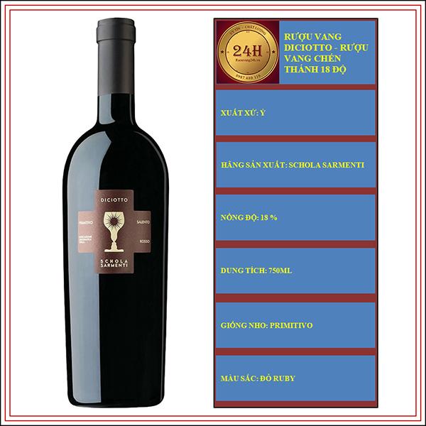 Rượu Vang Diciotto