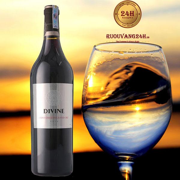 Rượu Vang Divine Saint Emilion Grand Cru