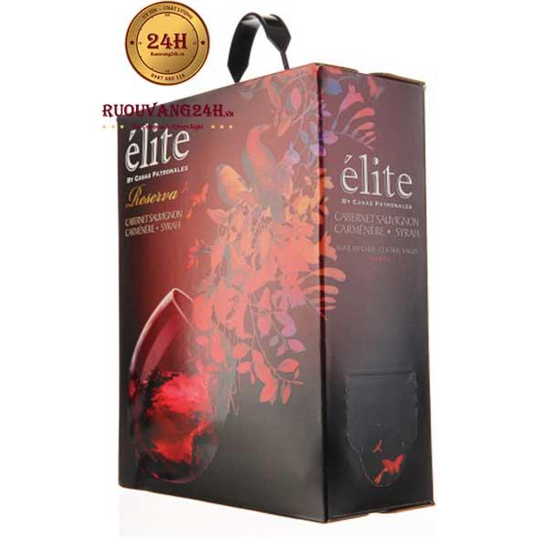 Rượu Vang Elite Reserva Cabernet Sauvignon Syrah