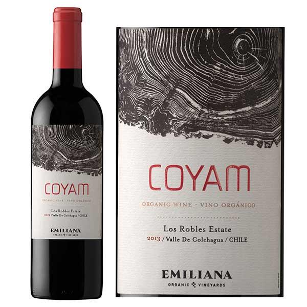 Rượu Vang Emiliana Coyam