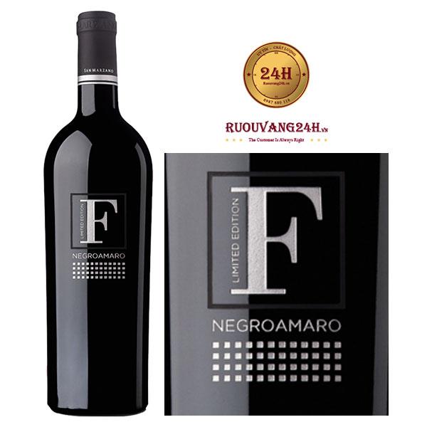 Rượu Vang F Limited Negroamaro