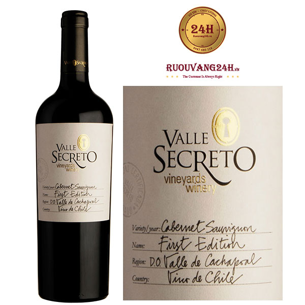 Rượu Vang First Edition Cabernet Sauvignon