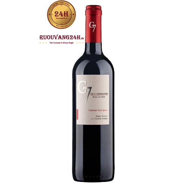 Rượu Vang G7 Generation Cabernet Sauvignon