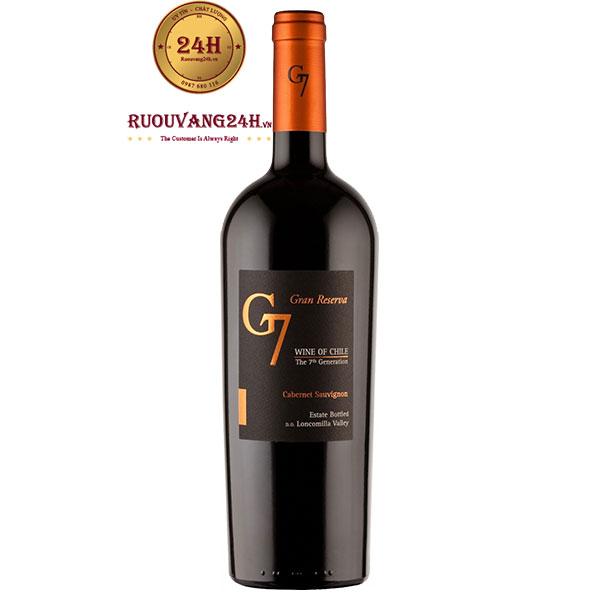 Rượu Vang G7 The 7Th Generation Gran Reserva