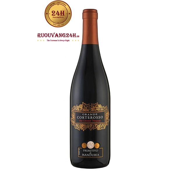 Rượu Vang Grande Corterosso Primitivo Di Manduria