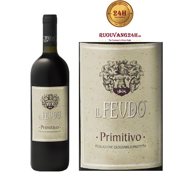 Rượu Vang Il Feudo Primitivo Puglia IGT