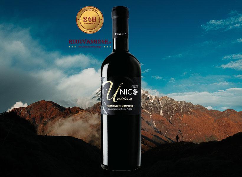 Rượu Vang L'Unico Riserva