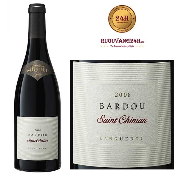 Rượu Vang Laurent Miquel Bardou Saint Chinian