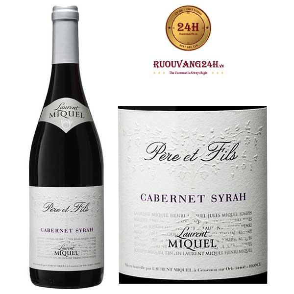 Rượu Vang Laurent Miquel Pere Et Fils Cabernet Syrah