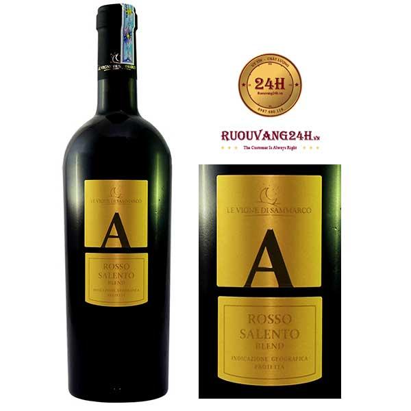 Rượu Vang Le Vigne Di Sammarco A Blend Rosso Salento