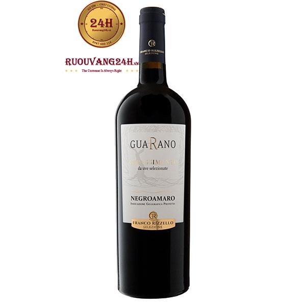 Rượu Vang Guarano Negroamaro Appassimento