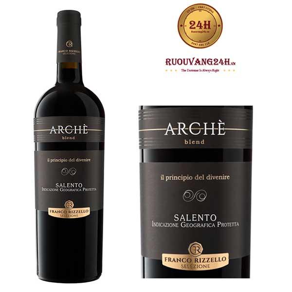 Rượu Vang Le vigne di Sammarco Arche Blend Salento