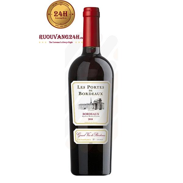 Rượu Vang Les Portes de Bordeaux