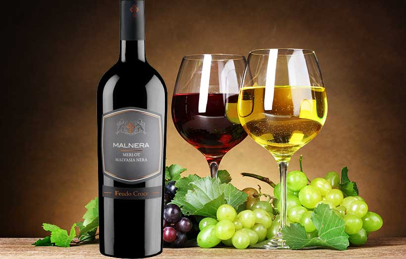 Rượu Vang Malnera Merlot Malvasia Nera
