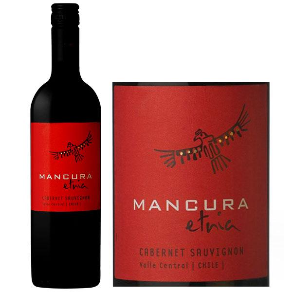 Rượu Vang Mancura Etnia Cabernet Sauvignon