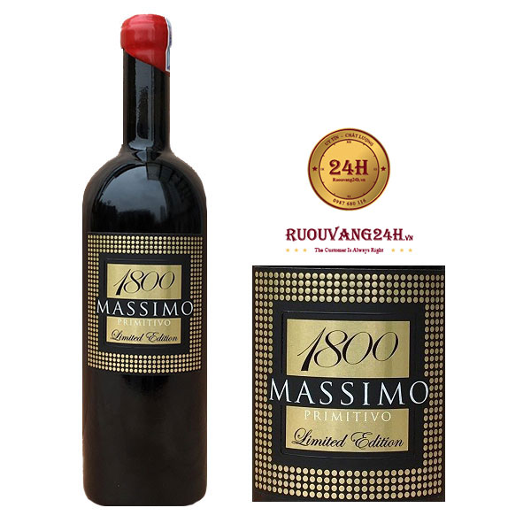 Rượu Vang Massimo 1800
