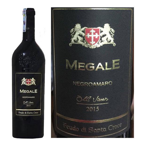 Rượu Vang Megale Black Negroamaro