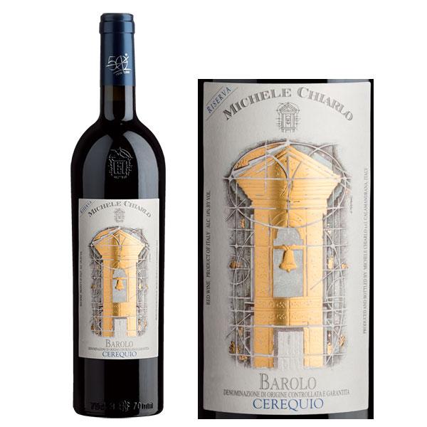Rượu Vang Michele Chiarlo Barolo Cerequito Riserva