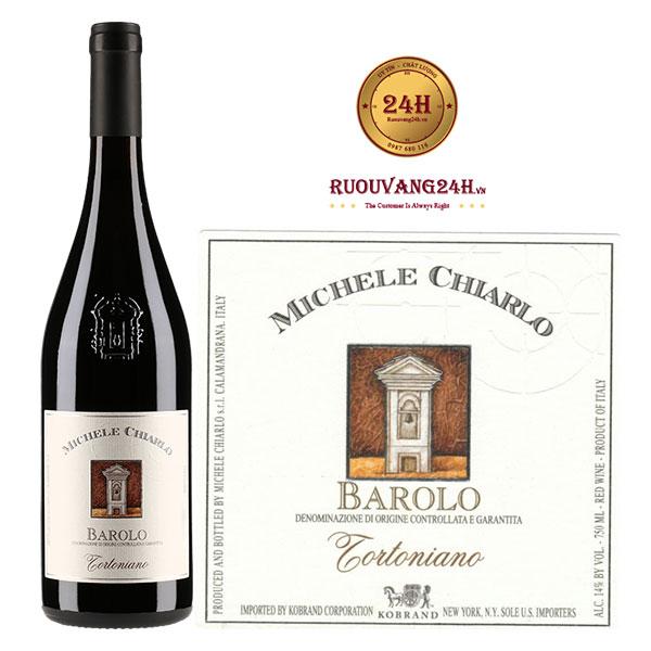 Rượu Vang Michele Chiarlo Barolo Tortoniano