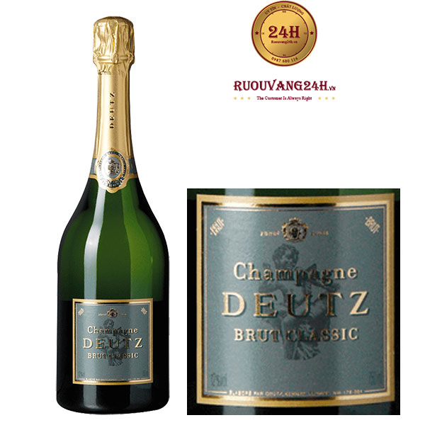 Rượu Champagne Deutz Brut Classic