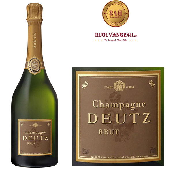 Rượu Champagne Deutz Brut