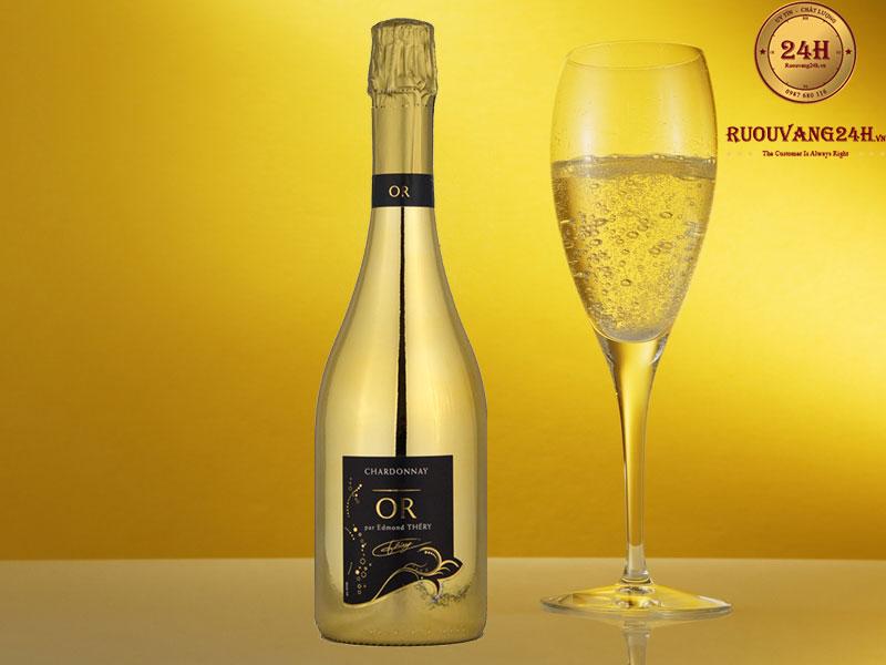 Rượu Sparkling Wine Chardonnay OR