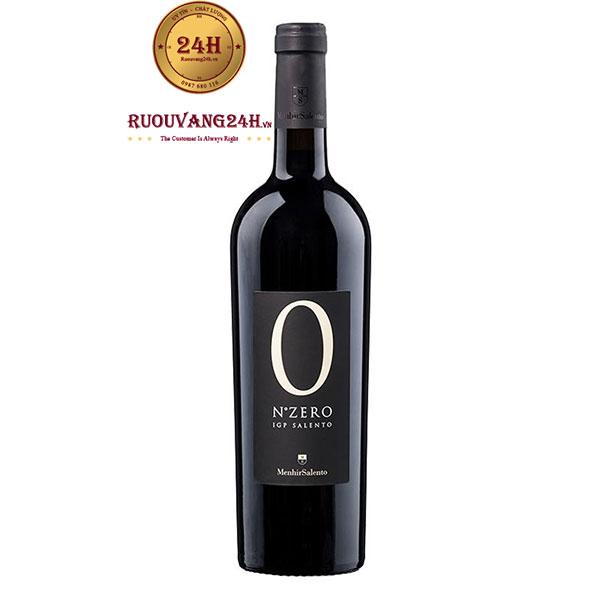 Rượu Vang N Zero Negroamaro Salento