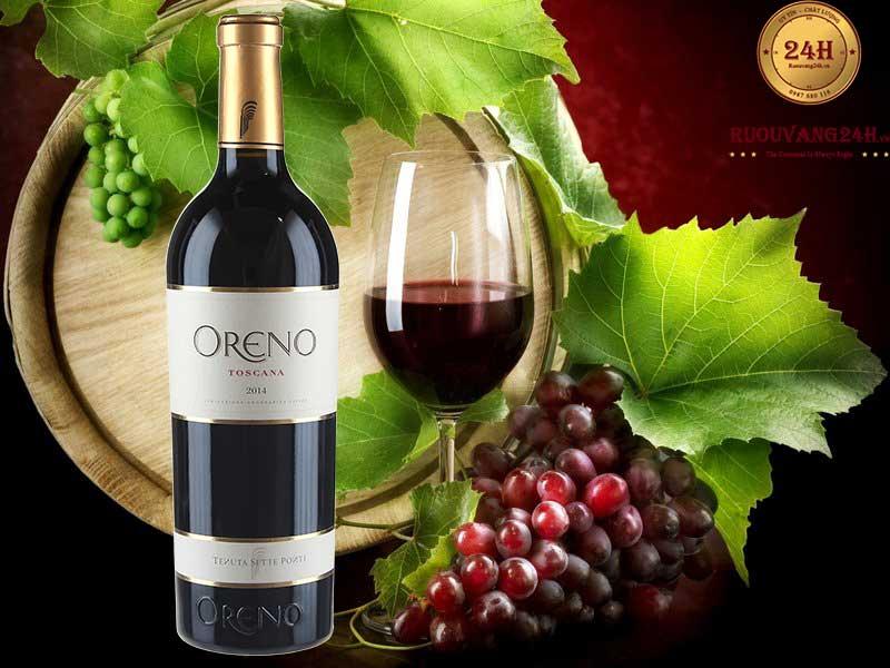 Rượu Vang Oreno