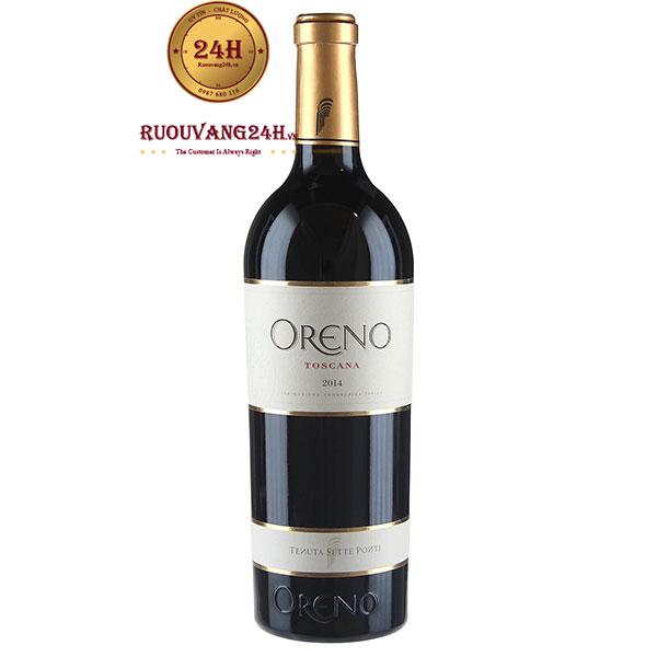 Rượu Vang Oreno Toscana