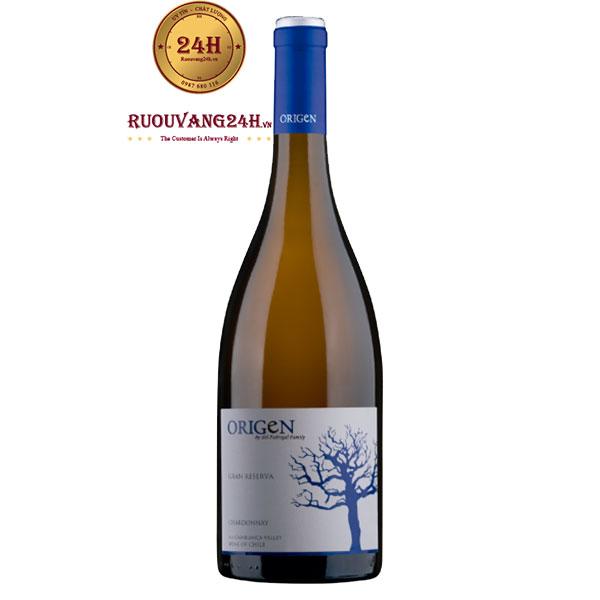 Rượu Vang Origen Reserva Chardonnay