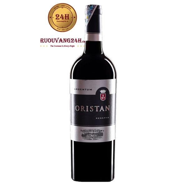 Rượu Vang Oristan Reserva
