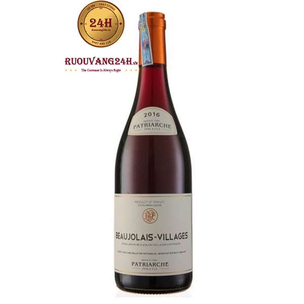 Rượu Vang Patriarche Beaujolais Villages